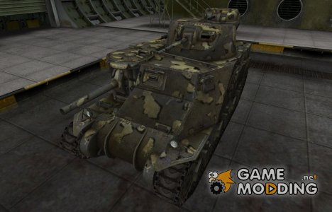 Простой скин M3 Lee для World of Tanks