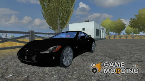 Maserati GranTurismo for Farming Simulator 2013