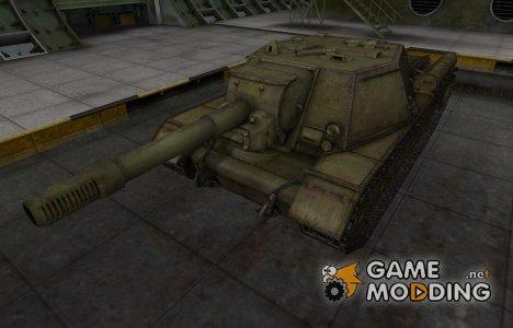 Шкурка для СУ-152 в расскраске 4БО для World of Tanks