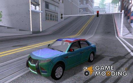E7 Carbon Motors Police для GTA San Andreas