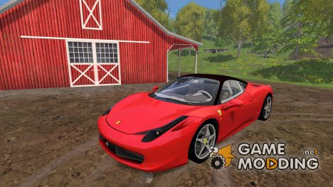Ferrari 458 Italia для Farming Simulator 2015