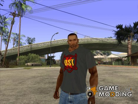 CJ в футболке (K DST) for GTA San Andreas