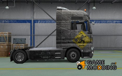 Скин Cthulhu для MAN TGX for Euro Truck Simulator 2