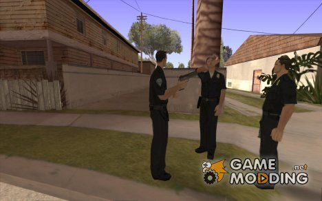 Cop Homies for GTA San Andreas