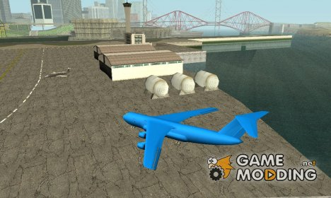 Airplanes in airport SF для GTA San Andreas