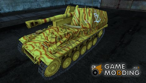 Wespe Gesar 2 для World of Tanks