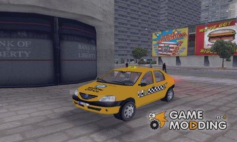 Dacia Logan Такси for GTA 3