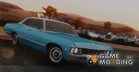 1967 Chevrolet Impala Sport Sedan 396 Turbo-Jet (16387) для GTA San Andreas