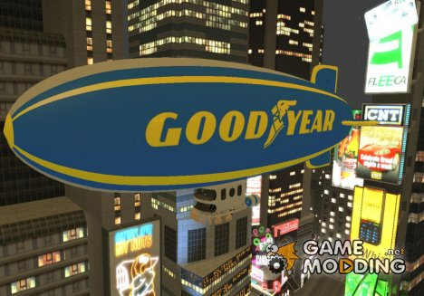 Goodyear Blimp для GTA 4