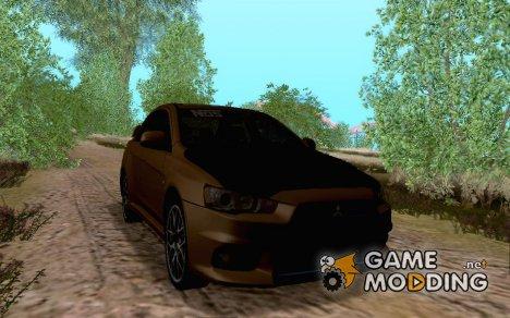 Mitsubishi Lancer Evo X Tuning for GTA San Andreas