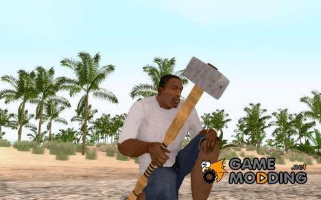 New bat - Sledgehammer for GTA San Andreas