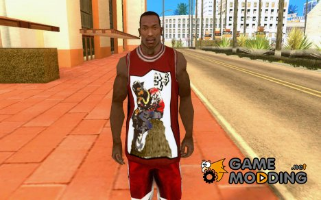 Уличная Hip-Hop Майка for GTA San Andreas