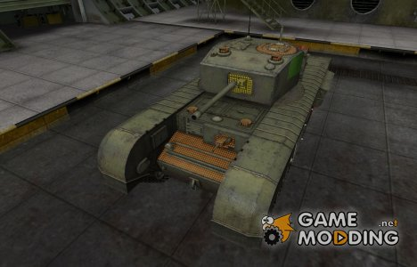 Зона пробития Черчилль III для World of Tanks