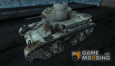 Шкурка для M2 lt для World of Tanks
