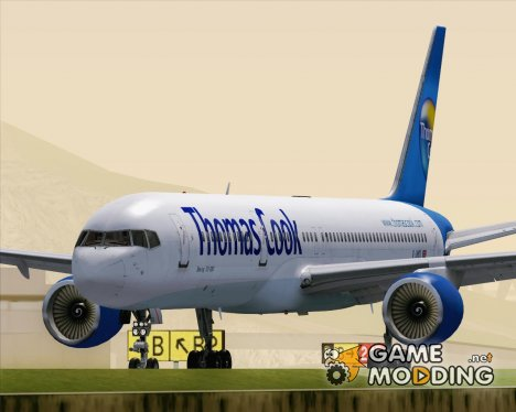 Boeing 757-200 Thomas Cook Airlines for GTA San Andreas