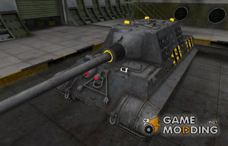 Слабые места Jagdtiger for World of Tanks