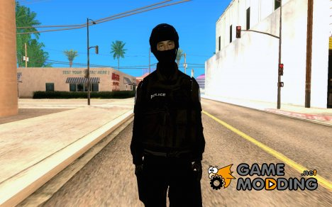 SWAT из GTA 4 for GTA San Andreas