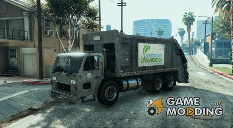 Los Angeles Sanitation Department of Public Works для GTA 5