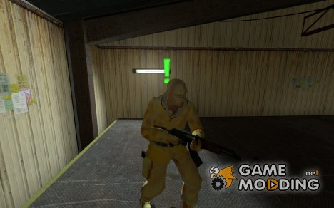 Orange Arctic Terrorist for Counter-Strike Source