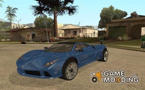 GTA 5 Pegassi Osiris для GTA San Andreas