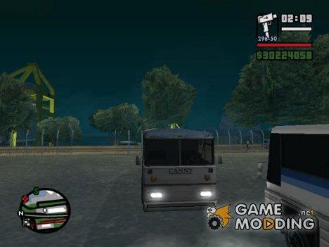 Миссии на автобусе for GTA San Andreas