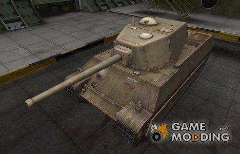 Пустынный французкий скин для AMX M4 mle. 45 для World of Tanks
