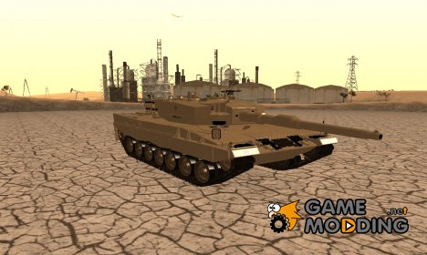 Leopard 2A4 for GTA San Andreas