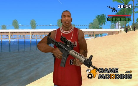 New M4 -  Custom M4A1 for GTA San Andreas