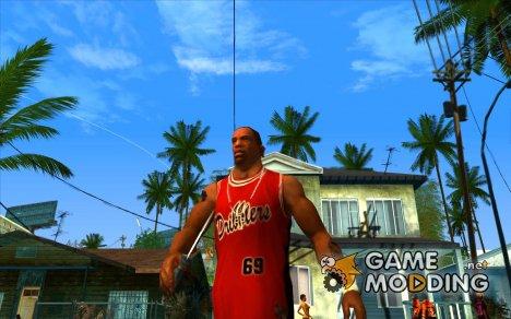 Гангстерская походка для GTA San Andreas