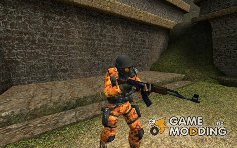 orange camo для Counter-Strike Source