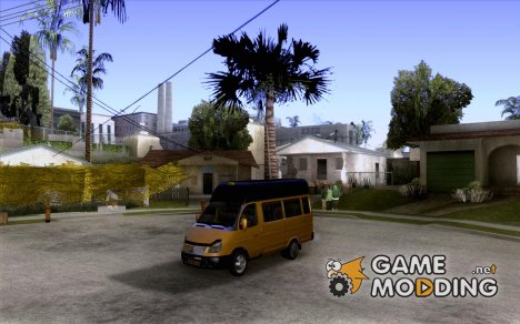 ГАЗель 32213 маршрутное такси for GTA San Andreas