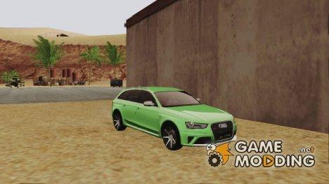Audi RS4 Avant for GTA San Andreas
