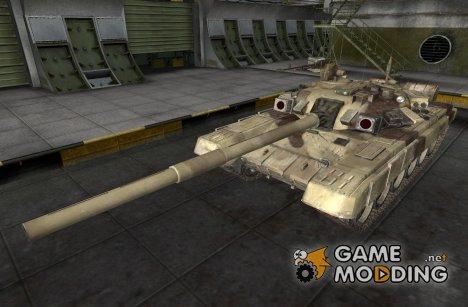 Ремоделинг для Т-62А со шкуркой для World of Tanks