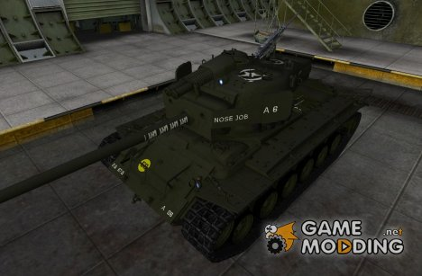 Шкурка для T26E4 SuperPerhing for World of Tanks