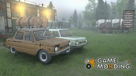 ЗАЗ 968М for Spintires 2014