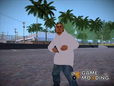 Зимний wmyst (Civil Winter skin) для GTA San Andreas