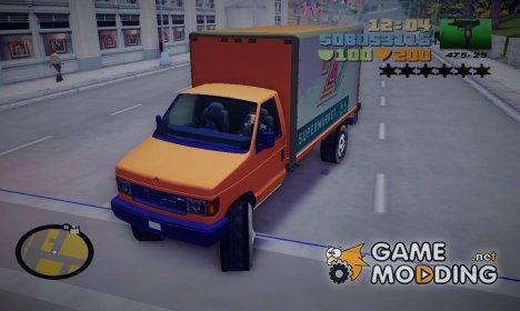 Steed из GTA 4 для GTA 3