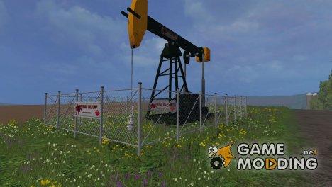 Нефтяная вышка для Farming Simulator 2015