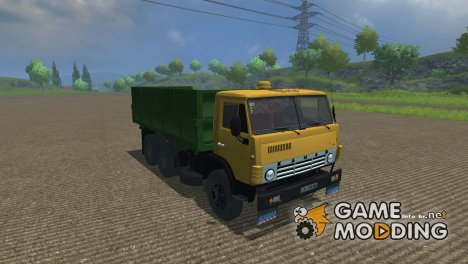 КамАЗ-55102 для Farming Simulator 2013