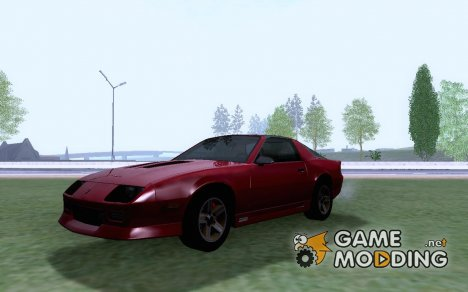 1986 Chevrolet Camaro Z28 Targa Top for GTA San Andreas