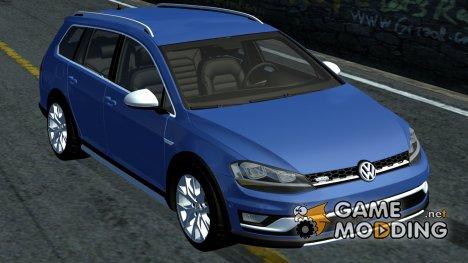 Volkswagen MK7 Golf Alltrack for Street Legal Racing Redline