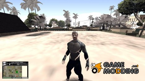 Quicksilver Skin from Avenger 2 Age of Ultron для GTA San Andreas