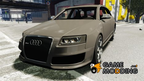 Audi RS6 Avant 2010 Stock for GTA 4