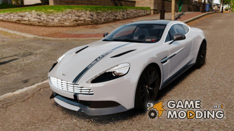 Aston Martin Vanquish 2013 для GTA 4