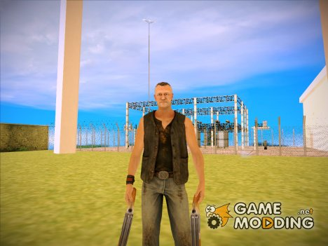 Merle Dixon (The Walking Dead) для GTA San Andreas