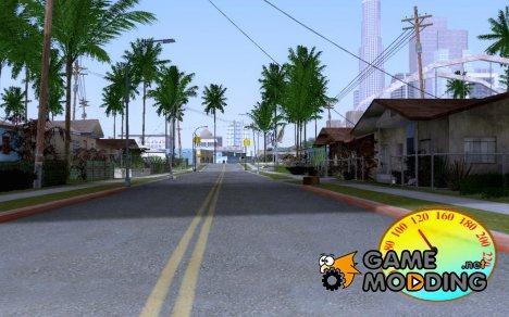 Speedometer 4 для GTA San Andreas