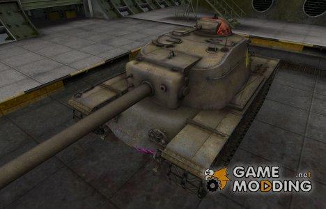 Качественные зоны пробития для T110E4 для World of Tanks