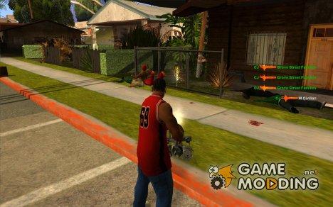 KILL LOG for GTA San Andreas