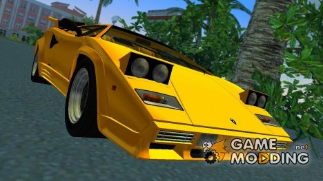 Lamborghini Countach LP5000 QV TT Custom для GTA Vice City