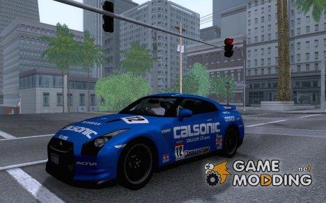 Nissan GTR 2010 Spec-V for GTA San Andreas